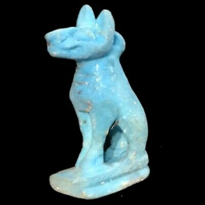 Beautiful Ancient Egyptian Bastet Amulet 300 Bc (8)