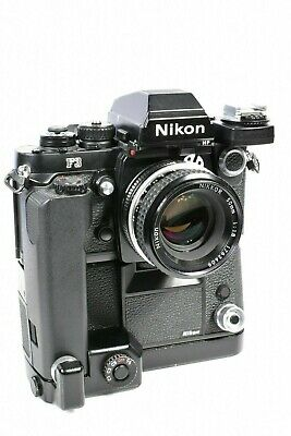 Camera Tested! Nikon Mk-1 Firing Rate Converter For Md-4 F3 F3Hp Film Camera