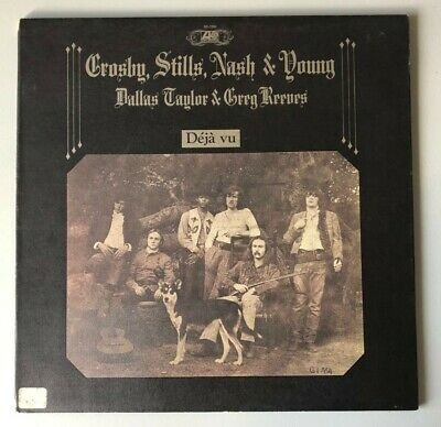 Vintage - Crosby Stills & Nash Young Deja Vu LP Record - Made in Canada (RARE)