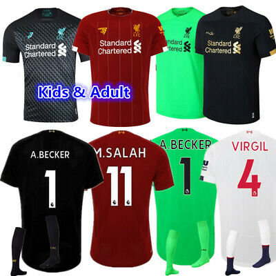 19-20 Football Kits Soccer Suits Kids Adults Jersey Sports Suits Christmas Gift