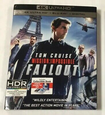 Mission Impossible FALLOUT 4K Ultra HD Blu-Ray Pre-Owned