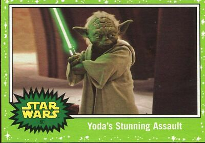 Star Wars JTTROS Green Parallel Base Card #50 The Dark Cave