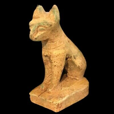 Egyptian Bastet Statue, Late Period 664 - 332 Bc (5)