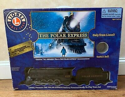 Lionel The Polar Express Train Set Battery Powered 7-11803 in Box