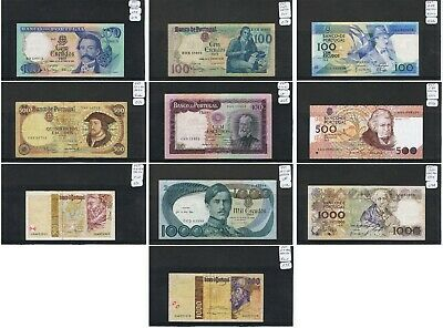 PORTUGAL BANKNOTE - Choice of notes