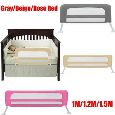 100/120/150cm Bed Guards Folding Toddler Bed Rail Safety Protection Adjustable