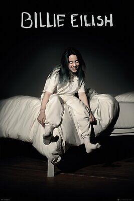 BILLIE EILISH POSTER from When We Fall Asleep Poster, Size 24x36