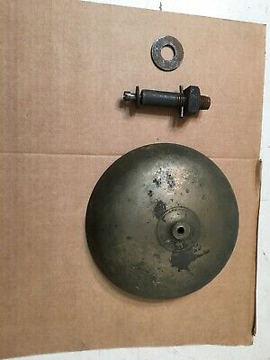 "Large Antique Bell Almost 7"" Diameter From Clock Fire  Alarm Boxing Nice Sound"