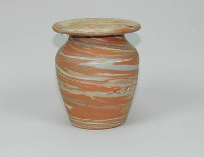 Arts & Crafts Niloak Mission type Swirl Ozark Pottery Vase Vintage