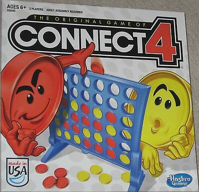 Classic CONNECT 4 Board Game NEW Factory Sealed Free Priority Shipping !