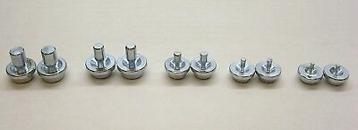 Double Flaring Tool Replacement Dies 10 Pieces 2 of Each Size