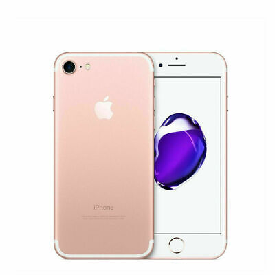 Apple iPhone 7 128gb Gold Rose 12 months warranty Nuovo IT Smatphone Top Seller