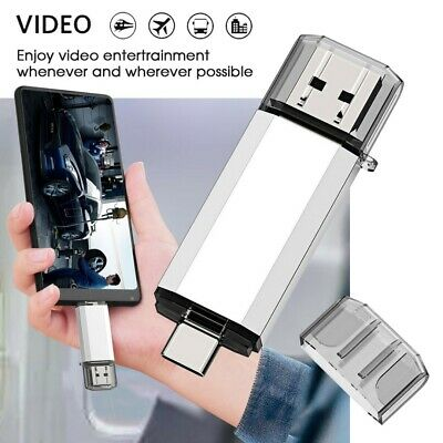 64GB USB Flash Drive Memory Storage Photo Stick U Disk For PC Android Phone UK