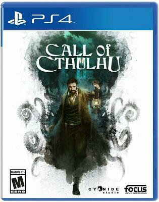 Call of Cthulhu for PlayStation 4