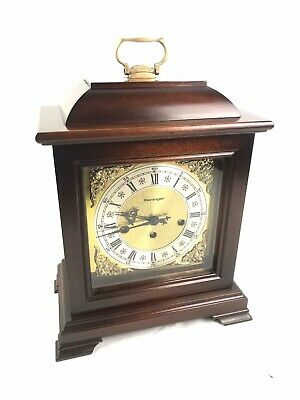 Kieninger Case Triple Chime Bracket/Mantle Clock Fully Serviced With Key Free Ps