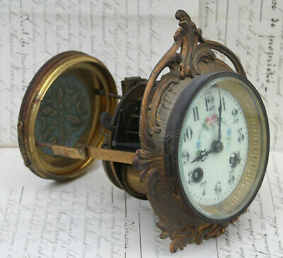 Antique French Striking Clock Movement / Workings,Spare-Replacement Clock Parts
