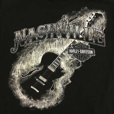 Harley Davidson Nashville >> Harley Davidson T Shirt Men S Medium Boswell S Music City