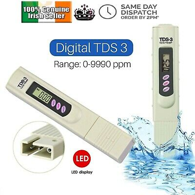 TDS-3 Digital LCD Meter Water Quality Tester Purity Filter Test Pen Stick PPM PH
