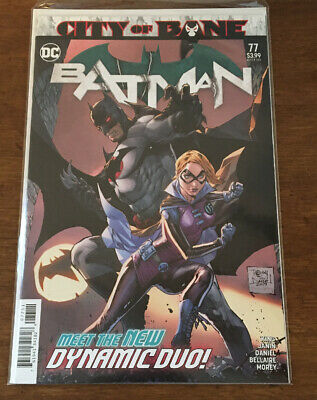 Batman #77 Regular Tony S Daniel Cover Death Of Alfred City Of Bane NM 2019