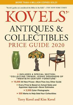 2020 Kovels Antiques & Collectibles Price Guide 52nd Ed 16,000 Prices in COLOR!