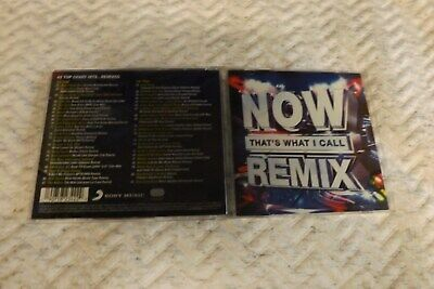 now thats what i call a remix double cd mint