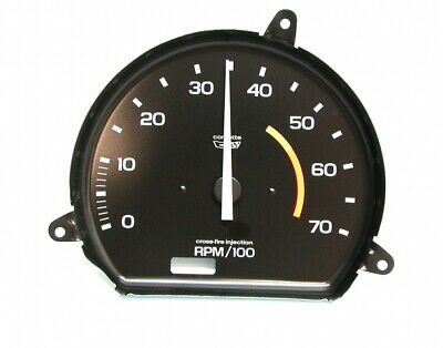 Tachometer-Assembly With 5300 Rpm Red Line-L 82-Electronic-82