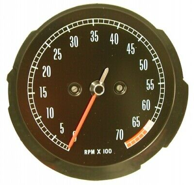 Tachometer-Assembly-With 6500 Rpm Red Line-65-67