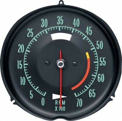 Tachometer-Assembly With 5300 Rpm Red Line-69-71