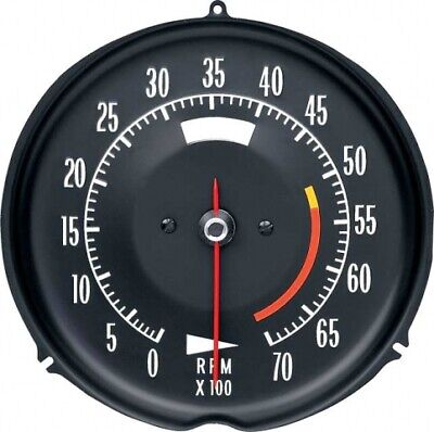 Tachometer-Assembly With 5300 Rpm Red Line-72-74