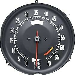 Tachometer-Assembly With 6500 Rpm Red Line-72-74