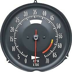Tachometer-Assembly With 6000 Rpm Red Line-72-74