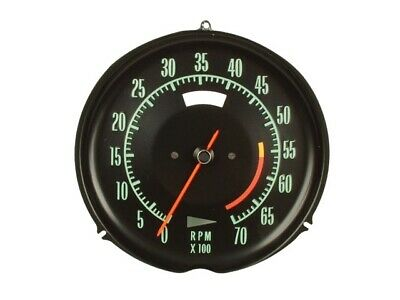 Tachometer-Assembly With 5600 Rpm Red Line-69-71