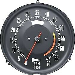 Tachometer-Assembly With 5600 Rpm Red Line-72-74