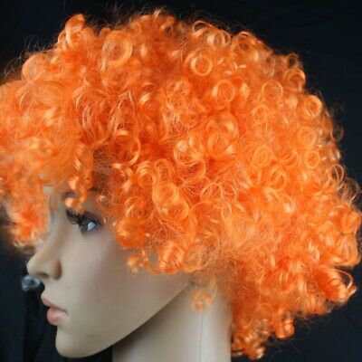Extension cheveux Orange pour Adulte Et Enfant Coloré Wild-Curl Up Couron173057