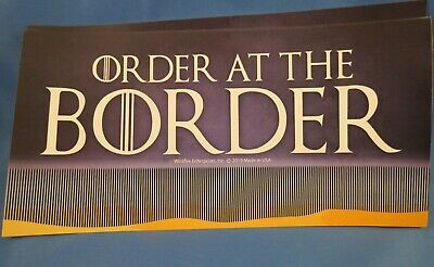 WHOLESALE LOT OF 20 TRUMP Build the Wall Order at the Border STICKER secure 2020