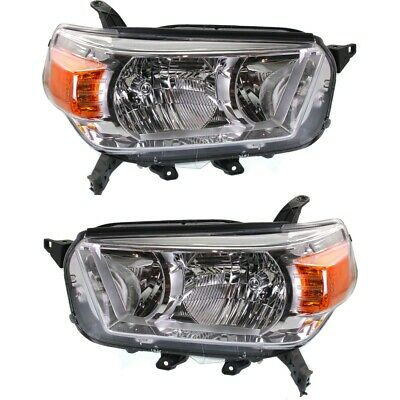 Headlight Lamp Left-and-Right for 4 Runner TO2519127C, TO2518127C LH & RH Toyota