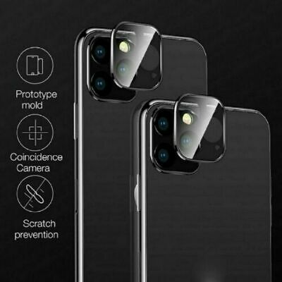 For 11 Pro X XR XS Max 20D Tempered Glass Camera Lens Screen Protector