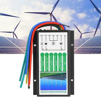 Wind and Solar Waterproof Power Hybrid Charge Controller DC 12V/24V 500W/1000W