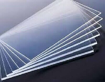 Clear Acrylic Perspex Plastic Safety Sheet Cut To Size Panels Plastic Panel
