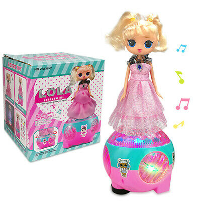 Girls Kids Surprise Pop Lola Doll Bump & go Music Leds Outrageous Lol Toys Gifts