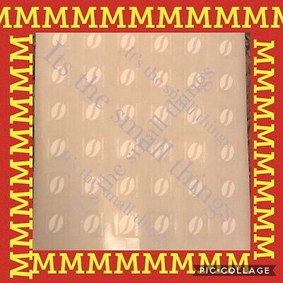 60 mcdonalds coffee beans loyalty stickers McCafé 10 cups