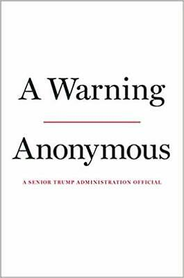 A Warning Hardcover – November 19, 2019