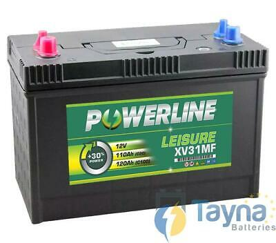 XV31MF Powerline Leisure Batterij 12V