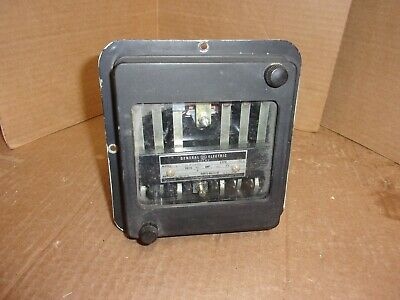 General Electric Relay 12HFA51A41F , used