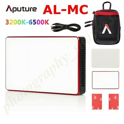 Aputure AL-MC LED 3200K-6500K RGBWW light HSI/CCT/FX Video For Sony Canon Nikon