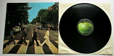 The Beatles - Abbey Road UK 1969 Apple Records - No 'Her Majesty' on label/cover