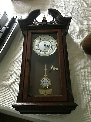 Very Rare Howard Miller Traditional Chimed Wall Clock - Mint Condition