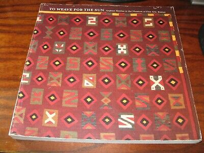 Andes Textiles: Pre-Columbian & Colonial / '92 EXHIB.CATALOG FOLIO SOUTH AMERICA