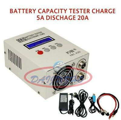 Lithium/Fe/Lead-acid Battery Capacity Tester Charge 5A 18V Discharge 20A 30V85W