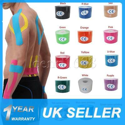 5cm*5m  Kinesiology Tape   Sports Physio Knee Shoulder Body Muscle Support UK
